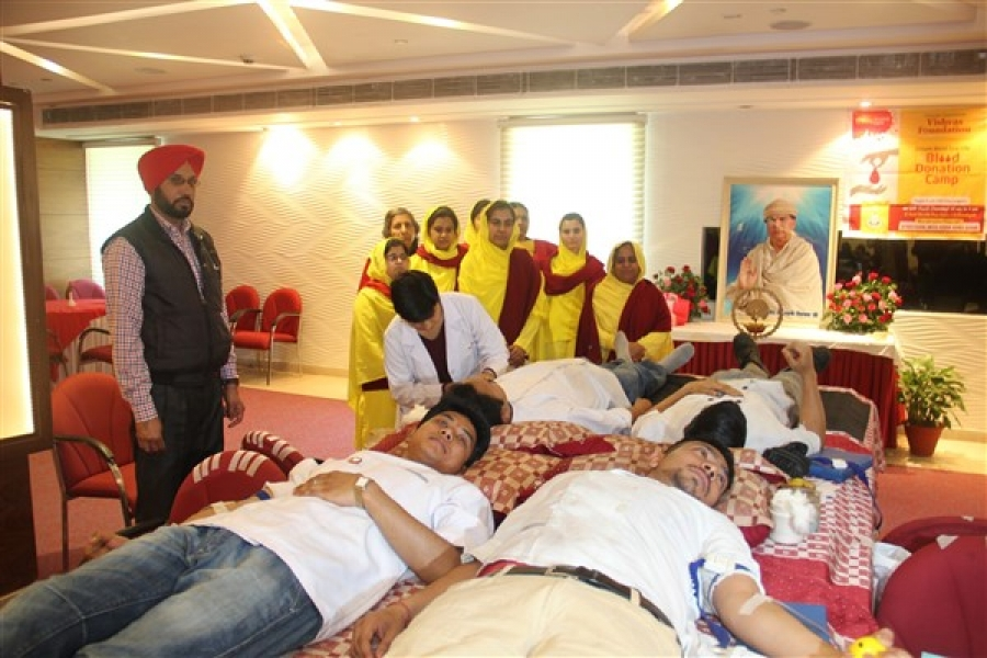 Blood Donation Camp, Hotel Shivalik View,Sec-17. Chandigarh