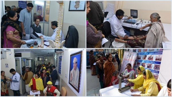 Free Health Check-up Camp, Delhi