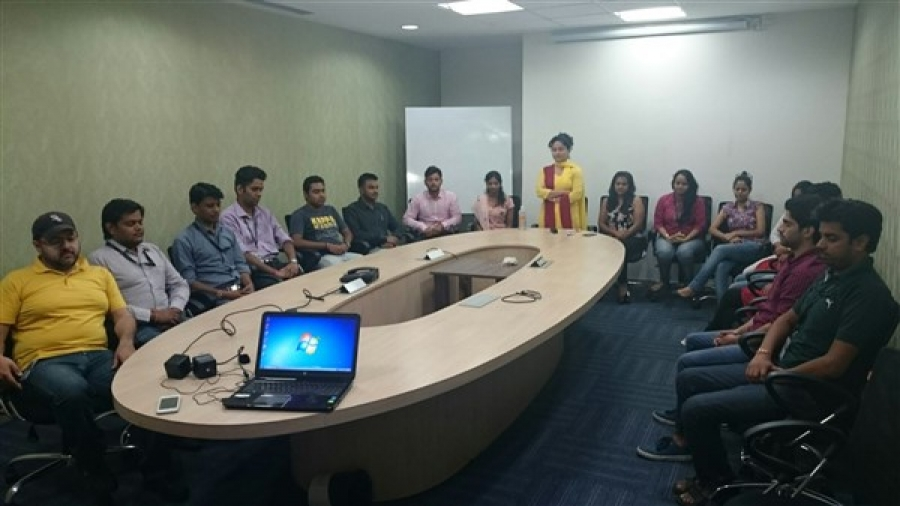 Vishvas Meditation at Selling Simplified India Pvt Ltd, New Delhi