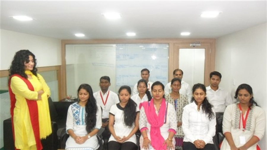 Vishvas Meditation Session at Jumboking Foods Pvt Ltd, Mumbai