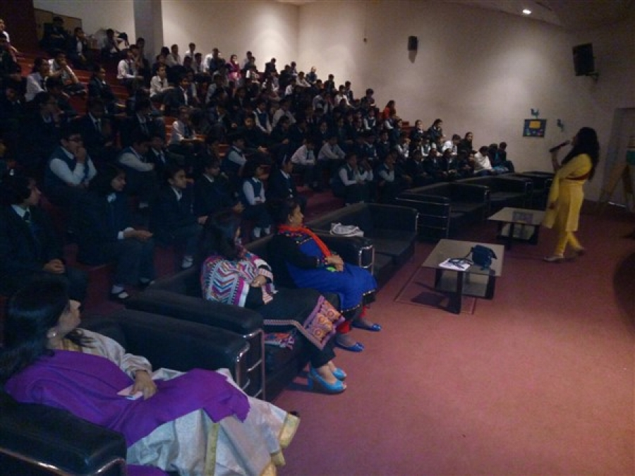 Vishvas Meditation Session at The Millennium School, Noida