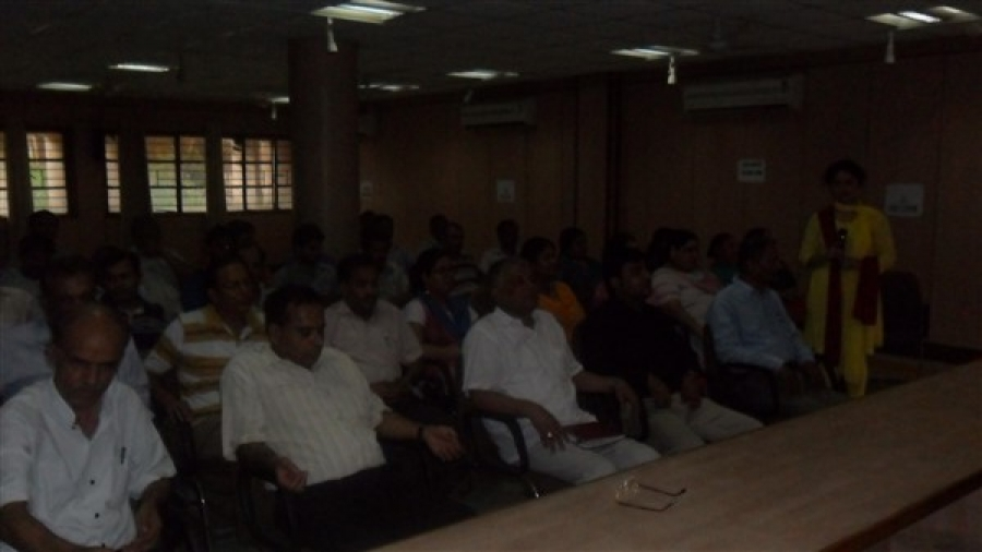 Vishvas Meditation Session at MSME, New Delhi